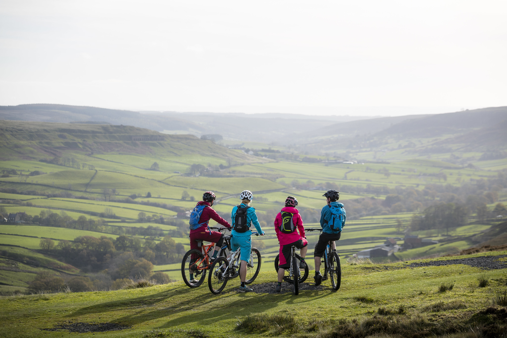 Mountain biking in the moors